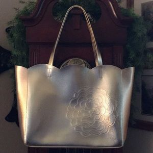 NWOT Large Gold Tote